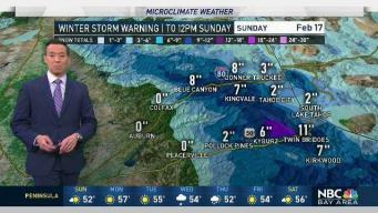 Forecast: Winter Storm Warning Until Midday Sunday