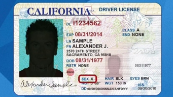 Gender-Neutral ID's Proposed in California