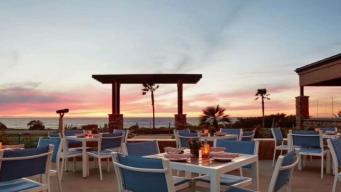 Get Pampered in a Chardonnay Bath at Carlsbad Beach
