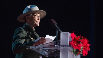 Thief Punches Oldest Full-Time Park Ranger, Steals Coin Given to Her by President