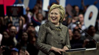 Clinton Surges Toward Nomination With 4 More Wins