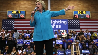 Hillary Clinton Rallies in Bay Area in Run-Up to California Primary