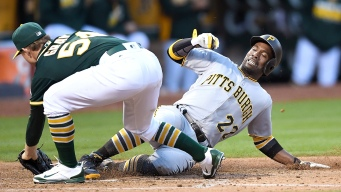 A's Gray Surrenders Seven Runs to Pirates for Seventh Loss