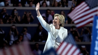 Hillary's Moment: 'We Are Not Afraid'