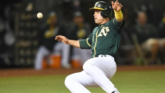 A's Hammered by Red Sox in Series Opener
