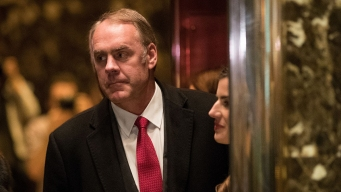 Interior Nominee Zinke Disputes Trump on Climate Change