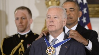 Obama Awards Biden Presidential Medal of Freedom