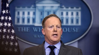 Trump White House Holds 1st Daily Press Briefing
