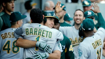 Trio of A's Rookies Make History in Win Over White Sox