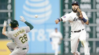 Graveman Goes Six Solid, But A's Blanked by Astros