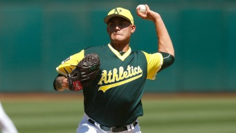 Offense Breaks Out as A's Beat Rangers 8-3