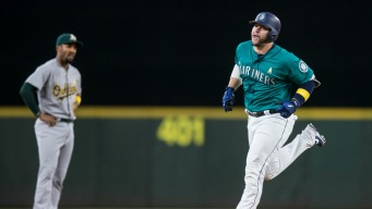 Quick Start by A's Offense Fizzles Out in Loss to Mariners