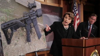 Feinstein Wants Ban on Device That Accelerates Rifle Fire
