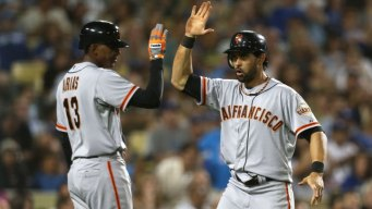 Giants Revel in Eliminating Dodgers
