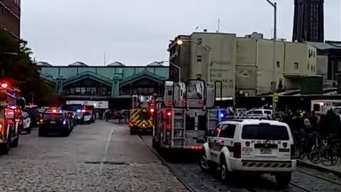 Helicopter Footage Shows Wreckage at NJ Train Station