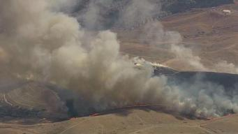 Homes Evacuated Amid 200-Acre Fire at Camp Parks Army Base