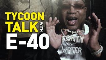 Tycoon Talk: E-40 Shows His Bling and How to 'Pop Ya Collar'