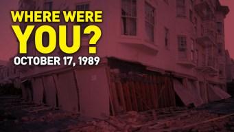 Where Were You When the Loma Prieta Earthquake Hit?