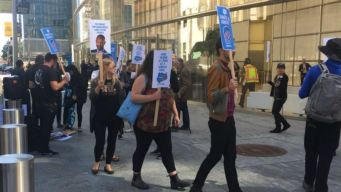 Protesters Challenge Salesforce Over CBP Contract