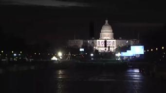 Timelapse: Washington Readies for Inauguration