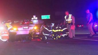 Injury Crash Blocks Lanes of Interstate 280 in San Jose