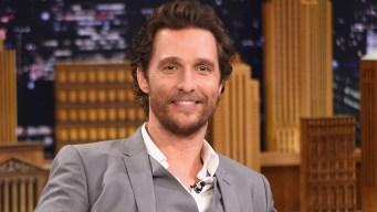 Matthew McConaughey to Teach Film Class