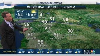 Jeff's Forecast: CA Thunderstorms and Humid