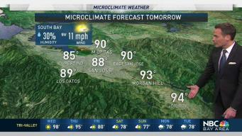 Jeff's Forecast: Hot Inland and Rain Outlook