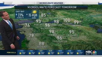 Jeff's Forecast: Isolated Upper 90s and Weekend Change
