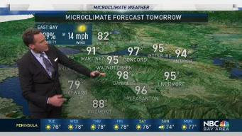 Jeff's Forecast: Morning Fog and Near 100 Inland