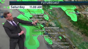 Jeff's Forecast: Saturday Shower Chance