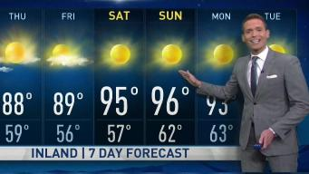 Jeffs Forecast  Isolated 90s
