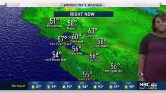 Kari Hall's Wednesday Forecast: Slightly Cooler