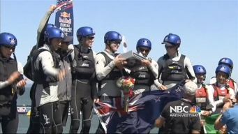 First-Ever Youth America's Cup Goes to Kiwi's
