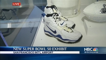 49ers Memorabilia Heads to SFO for New Exhibit