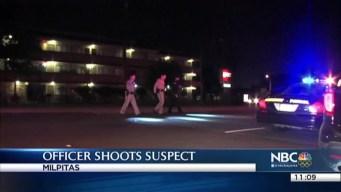Milpitas Police Shoot Suspect During Traffic Stop, I-680 Closed at Calaveras Boulevard