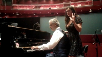 Musician Andrea Bocelli Has Message for Sharks