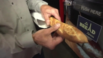 Vending Machine Bakes Baguettes