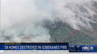 Soberanes Fire Claims First Victim, Destroys 36 Homes