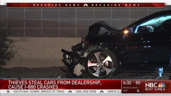 Suspects Steal Cars From Fremont Dealership, Cause Crash: CHP