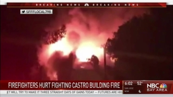 4-Alarm Fire in San Francisco's Castro District Displaces Seven, Injures Three Firefighters