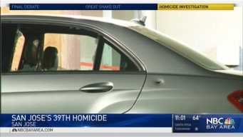 Person Dies at San Jose Hospital in Bullet-Ridden Car; City's 39th Homicide of Year