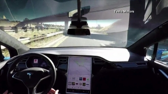 Video: Tesla Relases Video of Driverless Cars