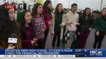 Mountain View Students Raise  Scholarship Money