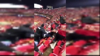 RAW VIDEO: Huge Brawl Breaks Out at Raiders-Chiefs Game
