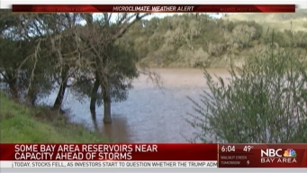 Rains Cause South Bay Reservoirs to Runneth Over