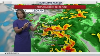 Forecast: Showers Will Continue Across Bay Area Monday