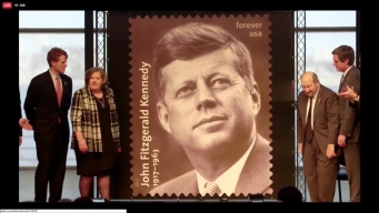 Forever Stamp Dedicated to President John F. Kennedy