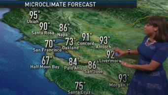 Kari's Forecast: A Bit Hotter Today