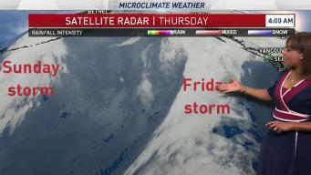 Kari's Forecast: Early Rain Clears